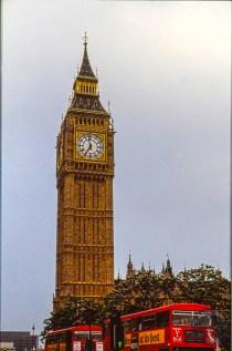 London, before digi-time