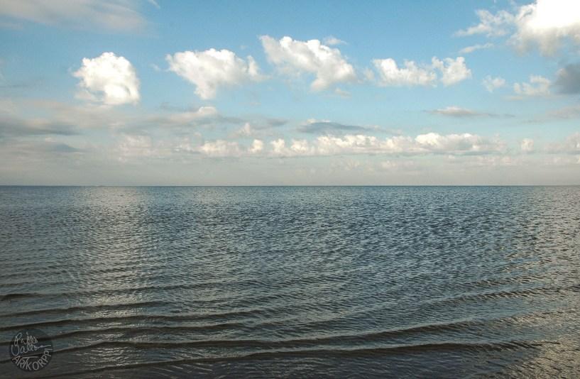The Baltic Sea that same morning.