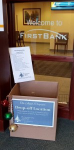 Doylestown's drop off location: 200 S. Main Street, Doylestown PA