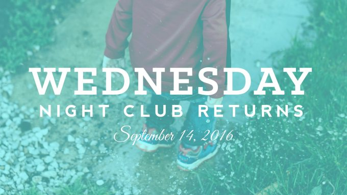 Wednesday Night Club 2016