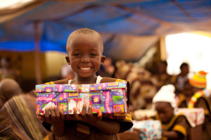 Youth Group Service Project - Operation Christmas Child Shoeboxes