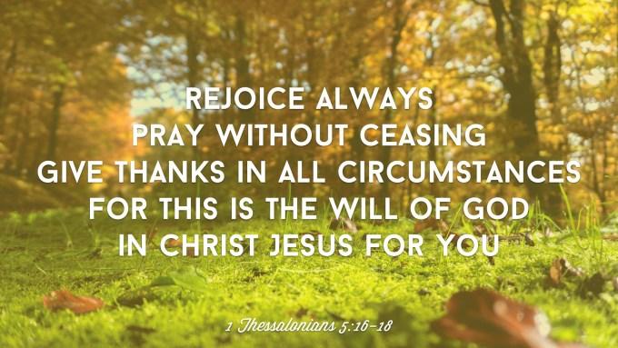 Rejoice Always