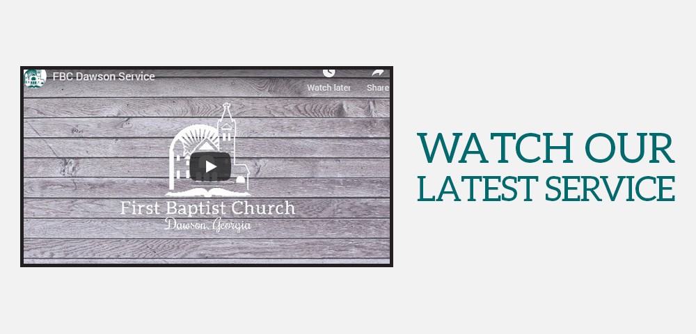 Click to watch our latest services on YouTube.