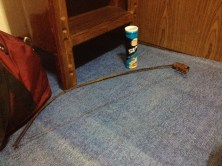 Setting the Mouse-trap with Crumbled Pringles