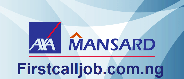 AXA Mansard Insurance Recruitment