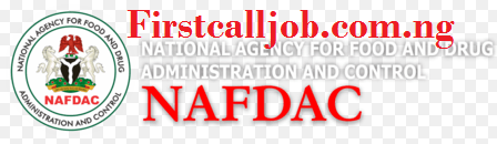 NAFDAC Job recruitment 2019