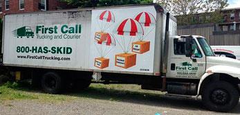 first call-trucking truck