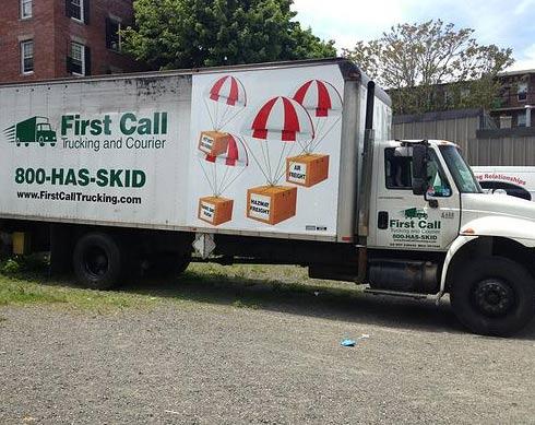 trucking company boston