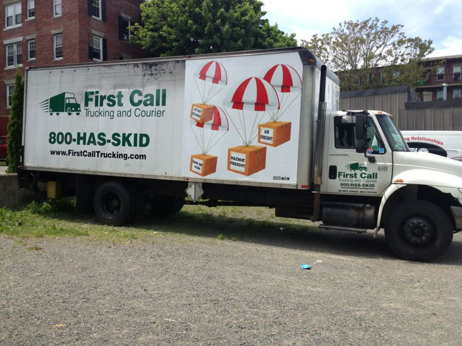 First Call Trucking airport cargo pickup delivery boston ma