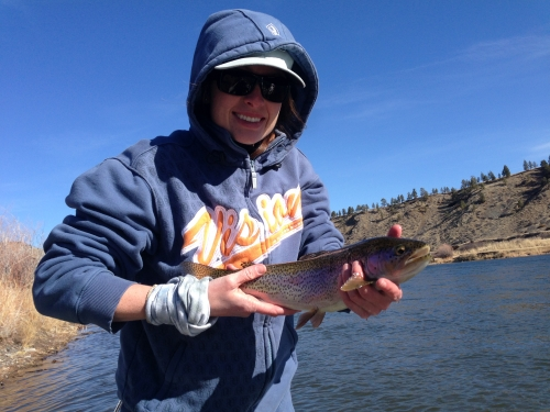 missouri river, spring special, rainbow trout