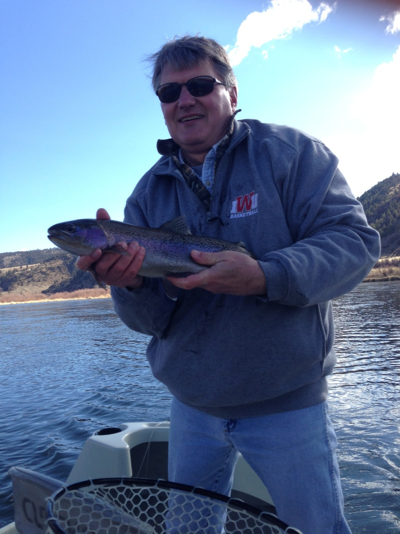 Missouri River, Rainbow Trout, Spring Special