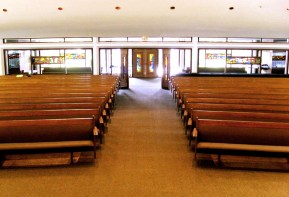 Pews and Narthex