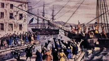1773 | First act of civil disobedience