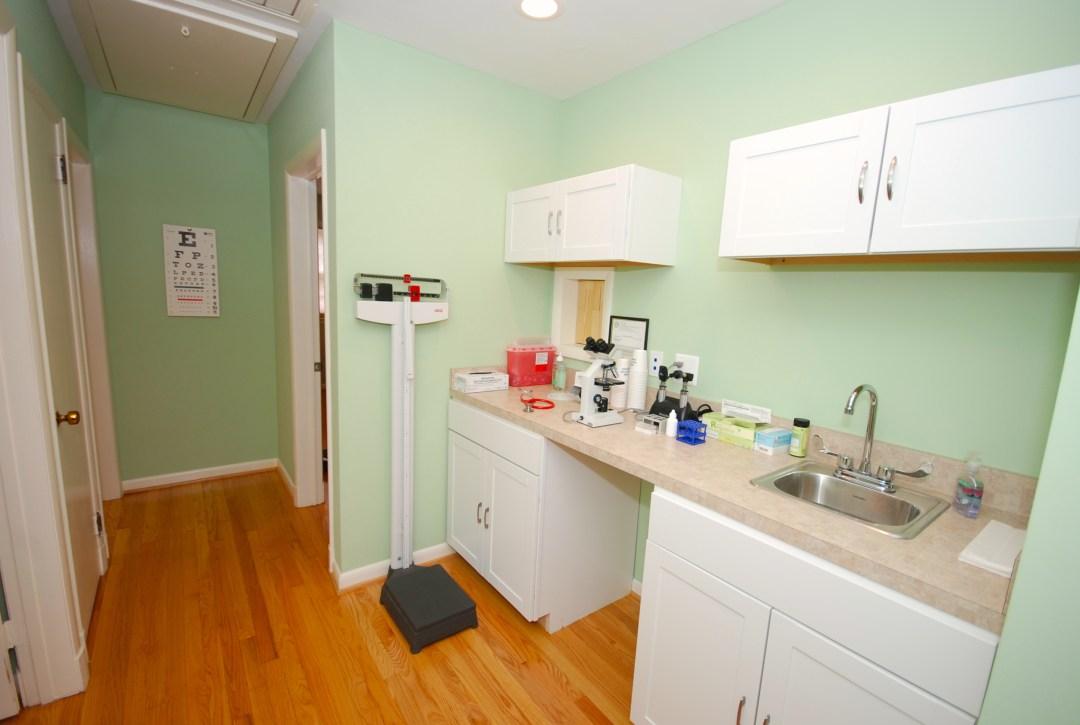 clinic equipment room