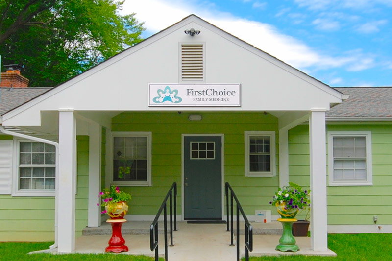 firstchoice clinic facade