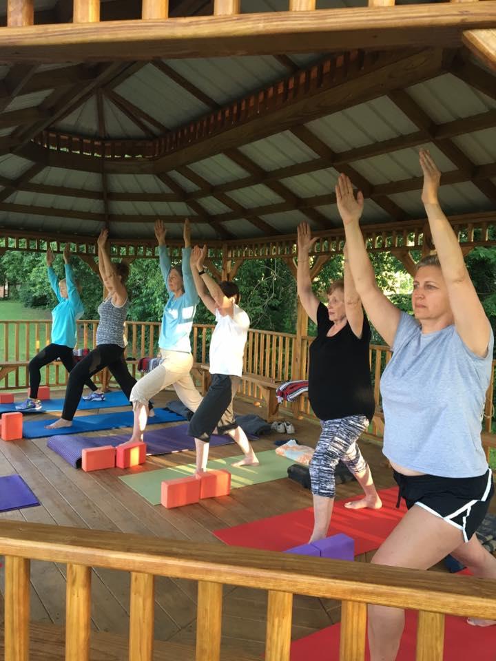 Yoga at the Gazebo 2017