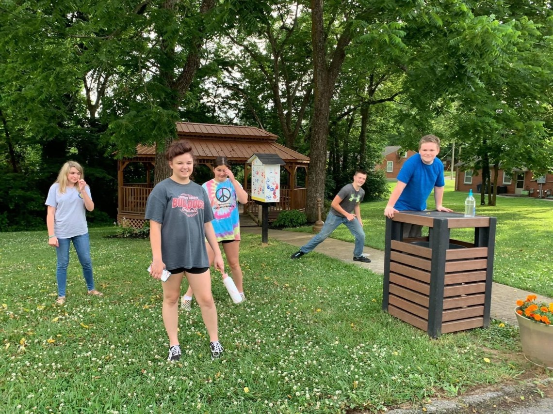 Chi-Rho and CYF youth - outside activities