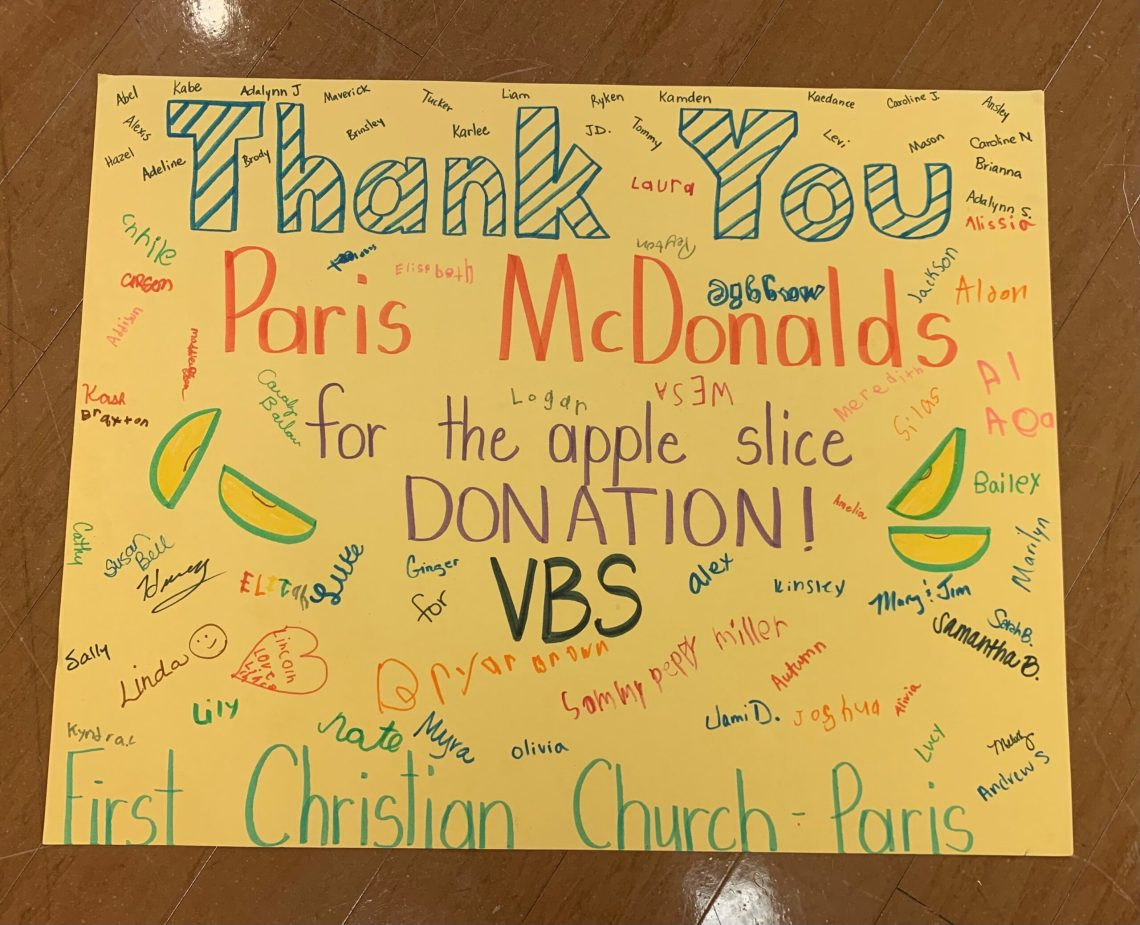 VBS thank  you