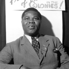Chief A S Coker, a Nigerian Trade Union leader attends the first Pan-African Congress in Manchester to discuss the effects of the 'colour bar'.