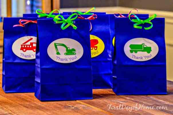 Transportation party bags