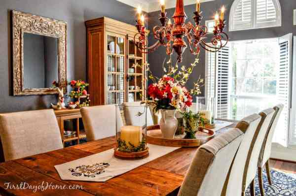 Dining Room Easter Decor