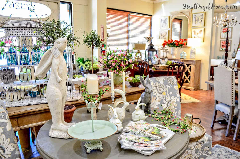 Easter tabletop display