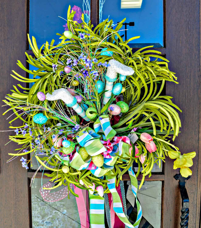 Picket Fences Entry Wreath