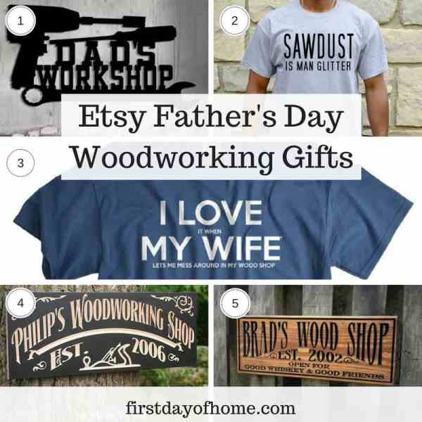 Etsy Father's Day Woodworking Gifts