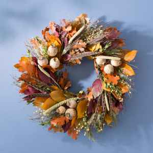 Autumn Pheasant Wreath