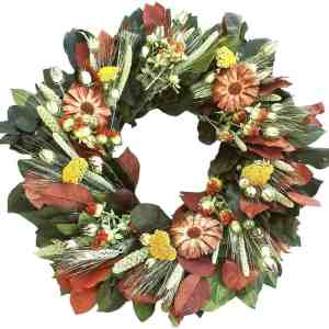 Cone Flower Wreath