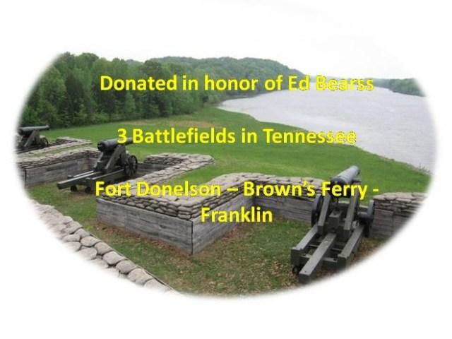 Preserving 3 Battlefields in Tennessee