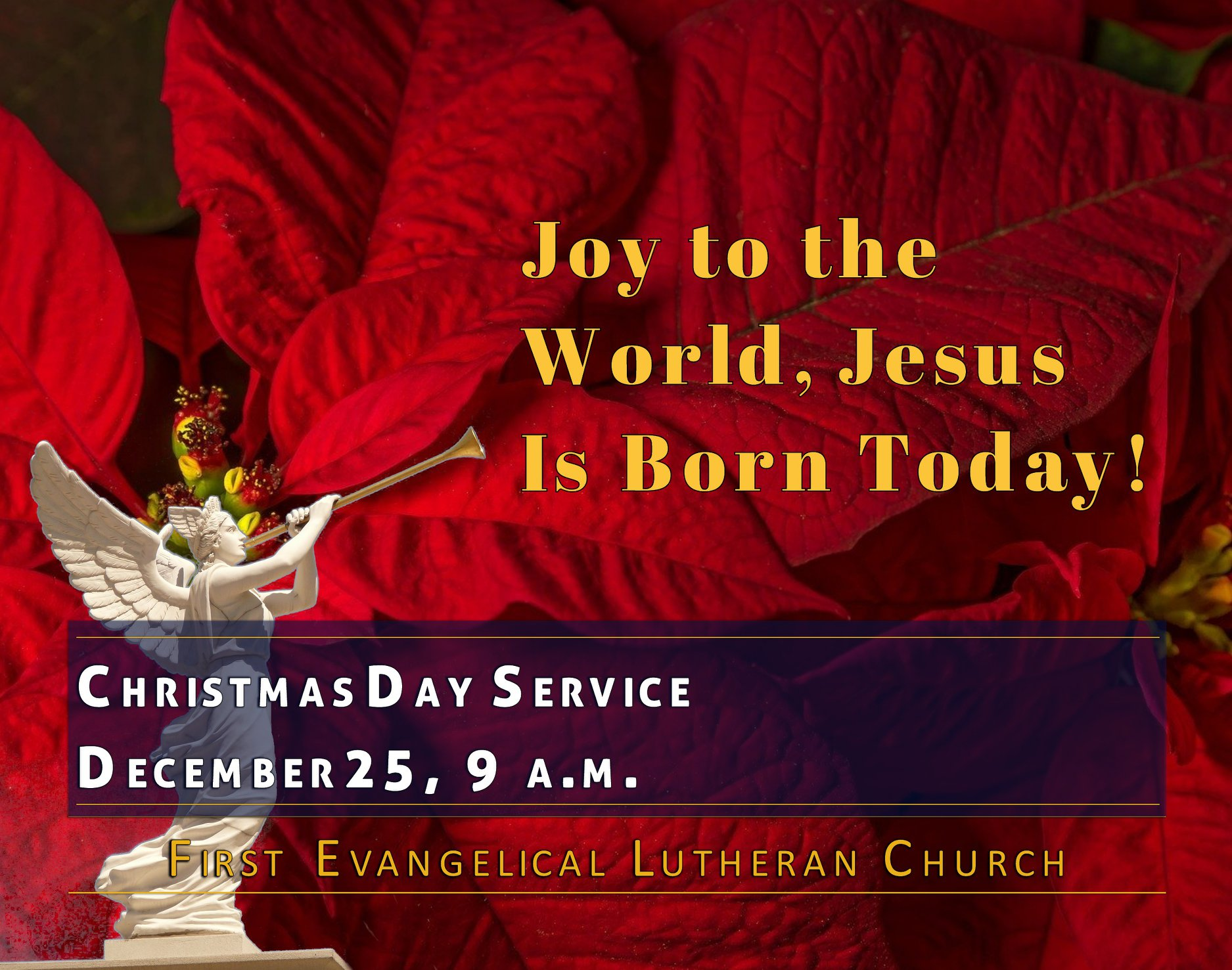 12/25/2019 - Christmas Day Service, 9 a.m.