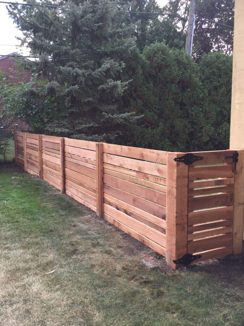 Wood Fence Installation Chicago First Fence Company