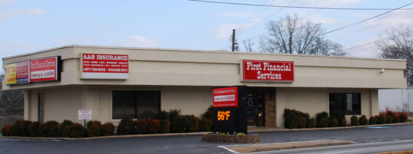 Loan Company in Gainesville GA - First Financial Services