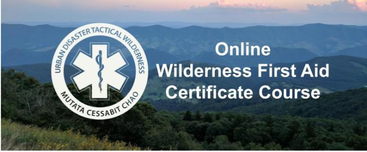 wilderness first aid online - online wilderness first aid