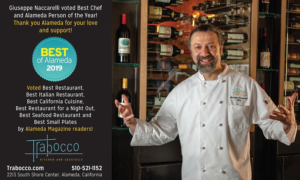 Ad for Trabocco Restaurant