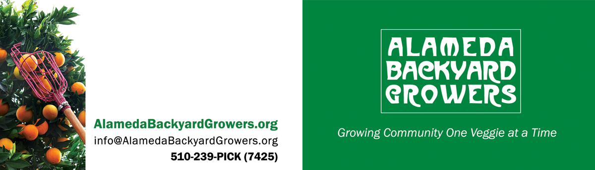 Alameda Backyard Growers business card