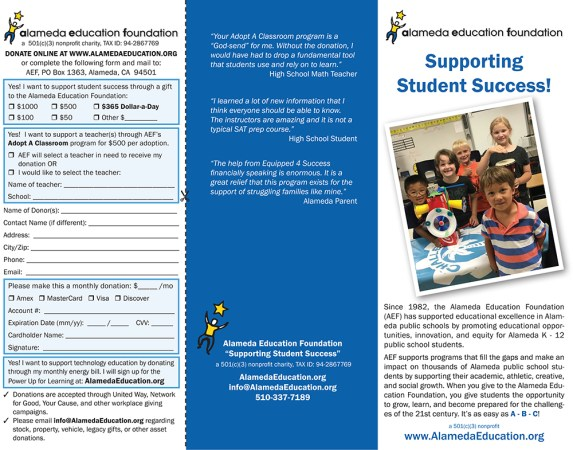 Alameda Education Foundation programs