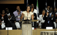First Lady of United States Addresses AME Conference