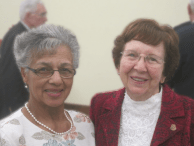 Freda Hendricks visits the World Methodist Council