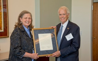 Fox honored at Candler School of Theology