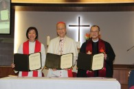 Hong Kong Methodist, Lutheran and Catholic churches agree on common Chinese translation regarding church document on Justification