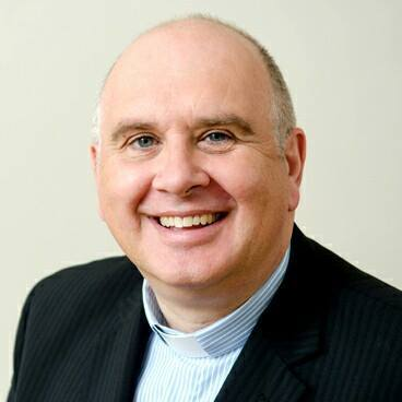 Rev. Brian Anderson, President of the Methodist Church in Ireland