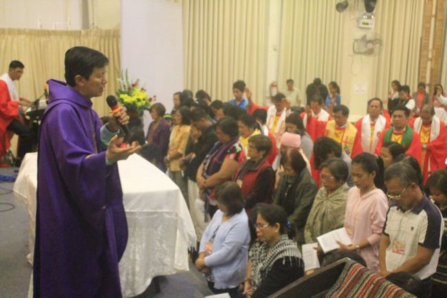 "Bishop Pete Torio's consecrated 41 lay persons to help the clergy in conducting Confirmation Classes in their respective churches during the Consecration Service of the 2016 Aldersgate Mission Conference. ""Christ confirms you and me. When we go back to our churches, we stand strong and declare Jesus Christ who is the light of the world!"" said Bishop Torio"