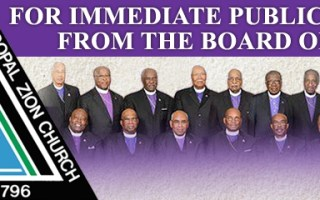 AME Zion Church Board of Bishops Issues Statement on Police Shooting