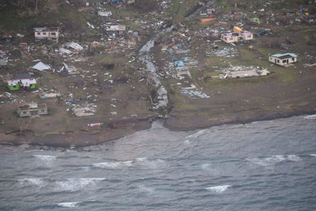 Koro Island, Fiji - Photo credit Facebook: Fiji Government