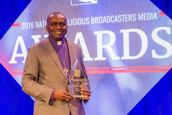 Bishop Onuoha honored with prestigious NRB international award