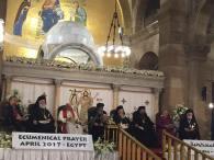Historic Ecumenical Prayer Service Held in Egypt