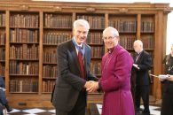 Former Methodist Church in Britain Vice-President awarded Lambeth Cross for contribution to ecumenism