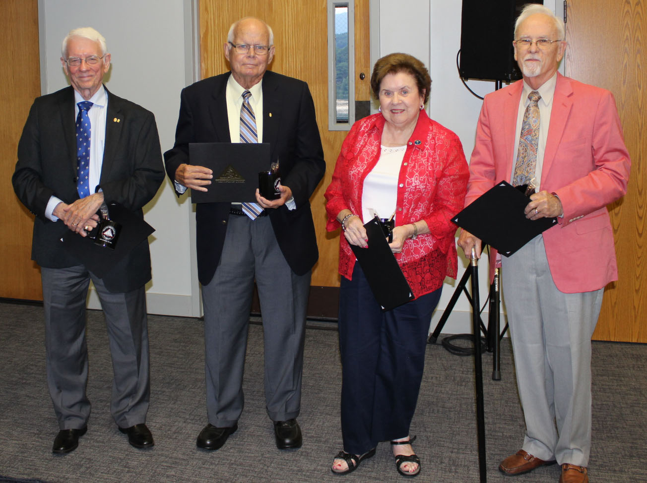 2017 Recognition of retiring board members